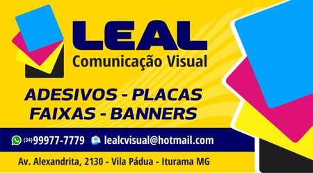 VEJA: LEAL COMUNICAÇÃO VISUAL