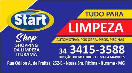 LOJA START SHOP, SHOPPING  DA LIMPEZA, É INAUGURADA NA RUA ODILON ANTÔNIO DE FREITAS