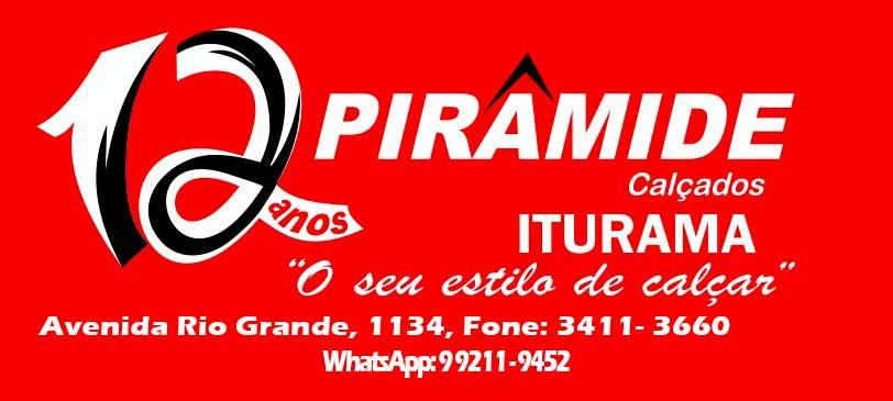 PIRÂMIDE CALÇADOS DE ITURAMA E AS NOVIDADES