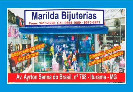 MARILDA BIJUTERIAS E ACESSÓRIOS, UMA LOJA COMPLETA ESPERANDO POR VOCÊ!