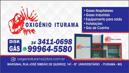 OXIGÊNIO ITURAMA E DISQUE - GÁS - 3411-0698
